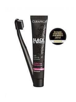 ยาสีฟัน CURAPROX Black is White